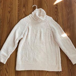 Lush Ivory Turtle Neck Sweater